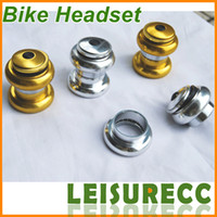 Wholesale Bicycle Headset Golden Bowl Set DIY Group Bicycle Parts Bike Headsets