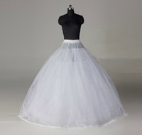100% Polyester Ball Gown Ball Gown Slip Big Discount!!2013 Hot Sale Ball Gown White New Style Peticoat