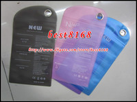 Wholesale Waterproof Zipper clear Plastic Retail bag Package packing for Samsung galaxy S4 S5 S6 edge plus I9082 note Iphone G S