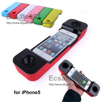 Wholesale Hot Selling Magic Loudspeaker Protection Case Cover Handset Speakerphone Loud Speaker Subwoofer My Tone for iPhone5 iPhone Mobile