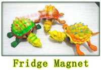 Wholesale retail Vivid turtle Fridge refrigerator icebox Magnet for Home Decor party gift kid s educational toys