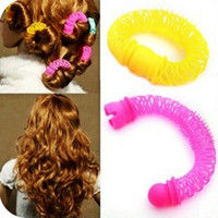Wholesale Small size Doughnut style quick Curly hair HAIR ARRANGE HAIR STICK THE PLATE SENDS TOOL in1 pack