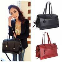 Wholesale 2014 New female Fashion Women Lady PU Leather Handbag Tote Bag Satchel Shoulder Bag H9477