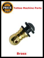 8PCS beauty supplies sale - Hot Sale Tattoo Machine Parts Golden New Pro Beauty Rear Binding Post Brass For Gun Supply