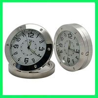 None   Motion Detector Spy Covert Camera Alarm Clock DVR Round Table Desk Clock Camera 4GB 8GB NO TF Card