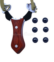 High Density Alloy and wood alloy density - Wooden Handle High Density Alloy High Quality Poctet Slingshots Catapult Hunting Sling Shot