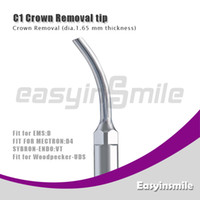 Wholesale dental scaling tip easyinsmile C1 Crown Removal tip compatible with EMS Woodpecker tips of scaler