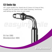 Water Pick No No easyinsmile E2 Ultrasonic Scaler Endo File Holder Tip 90 Degree chuck compatible with EMS Woodpecker
