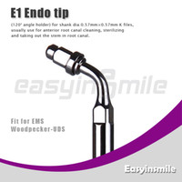 Water Pick No No easyinsmile E1 Ultrasonic Scaler Endo File Holder Tip 120 Degree chuck compatible with EMS Woodpecker