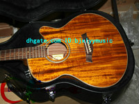 Wholesale Custom K24CE Acoustic Electric Guitar In Stock with case New Arrival High Cheap