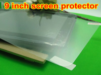 Wholesale 100pcs Clear Screen Protector Film Guard Skin Case Cover for inch allwinner a13 T900 tablet JBD A3