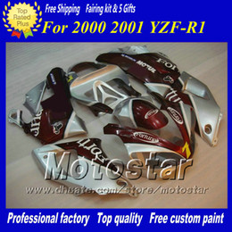 7 Gifts custom racing motorcycle fairing for YAMAHA 2000 2001 YZF-R1 00 01 YZFR1 00 01 YZF R1 YZFR1000 fairings set zs85