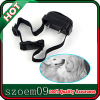 Wholesale Hot W Special Screwdriver Black No Barking DOG Training Shock Collar Anti Bark