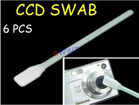 Wholesale 6x Swab CCD CMOS Sensor Cleaner Cleaning Kit for DC Digital Camera DSLR XVDO001