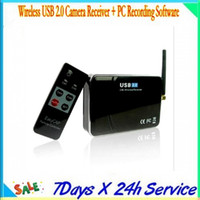 Wholesale 2013 Wireless USB Camera Receiver with Antenna Ghz channel wireless usb DVR Receiver with