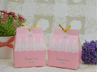 Cheap Favor Boxes candy box Best mix colours Paper wedding favor