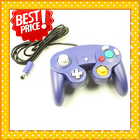 Wholesale Best Price Ship From USA For Gamecube Controller Indigo Wired Joystick Pad New Sealed V00087
