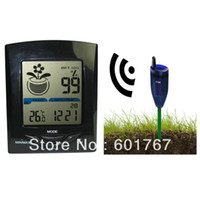 Wholesale Wireless Soil Moisture tester Digital Outdoor Indoor Humidity Device XH300 sans fil Testeur