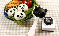 Sushi Molds onigiri - Panda Shape Sushi Maker Rice Ball Onigiri Mold Mould Nori Punch DIY Bento Sushi Maker Rice Ball