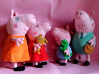 Unisex 8-11 Years Anime & Comics peppa pig Set of 4 daddy Mummy Pig give it to your friend as a good gift or keep it for yourself Peppa George Pig family large
