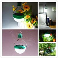 Wholesale mini led solar light Solar Panel Lantern leds Multi Switch ABS garden camping lamp