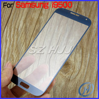 Wholesale For Galaxy S4 Outer Screen Glass Lens Glass Digitizer Screen Cover For Samsung Galaxy S4 IV i9500 i9505 i337 Hot Sell