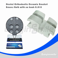 Yes Yes  Free shipping Dental Orthodontic Roth Ceramic Bracket Brace with No Hook 0.018
