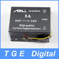 Wholesale Ship by DHL A A A Car Voltage Dropper DC DC Power Supply Regulator V DC to V DC Converter with Protection