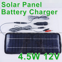 Wholesale Multi Purpose Solar Panel Battery Charger Car Auto RV motorbike W V