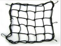 Wholesale Mesh Bungee Web Net black Luggage Cargo Boot Net Bike Motorcycle Helmet Storage Holder Package Carrier Bag