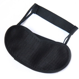 Wholesale 1Pcs New Sale Bamboo Charcoal Sleeping Eyeshade Blinder Eyepatch Sleep Mask New