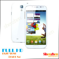 Wholesale i9500 S4 Quad core android Smartphone with MP camera FULL HD Screen cell Phone