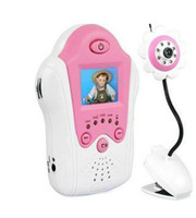 Wholesale Flower Design inch TFT LCD G Wireless Baby Monitor with Night Vision Voice Control AV OUT wu
