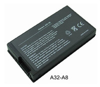 Wholesale Battery for ASUS A8 A8000 F8 N80 X80 Z99 A32 A8 Laptop Cell Li ion