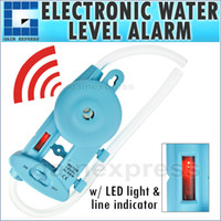Wholesale E04 Wall mounted Electronic Water Level Alarm with Power Lamp amp Level line Indicator Groove Fences Decks Cabinets Framing Leveling