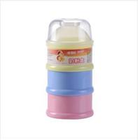ENVÍO GRATIS! F04 leche en polvo para bebés, caja de leche en polvo / 3 capas