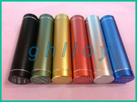 Cheap External Battery 2600mAh Cylinder style Emergency Power Bank Charger for Phone 4 4S Various Mobile