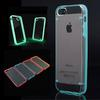 Glow in Dark iPhone Case Luminous Style Glow Hard Bumper Skin Case Back Cover For Apple iPhone 5 5G 5th 10PCS J 08028