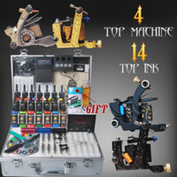 Wholesale Professional Complete Tattoo Kits Machine gun Inks arrive within days DIY