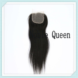 Wholesale Noble Queen Best Quality A Silky Lace Top Based Closure Inch Brazilian Virgin Unprocessed Factory Price Human Hair Straight Wave Closure