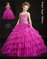 Girl aa pictures - A line Girl s Pageant Dresses Gown Spaghetti Flower Girls Dresses AA