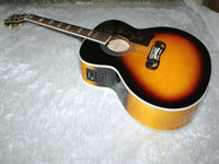 Wholesale 6 Strings Acoustic Guitar Vintage Acoustic Guitar Acoustic Electric Guitar with EQFishman OEM Electric Guitar