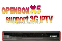 Wholesale 1pcs openbox X5 full HD p support usb wifi youtube gmail weather google G GPRS