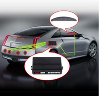Wholesale Car LED Parking Reverse Backup Radar System with Backlight Display Sensors colors retail box