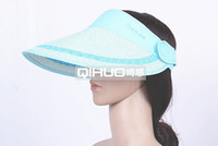 Wholesale Fashion straw sun visor sun hat Lovers cap