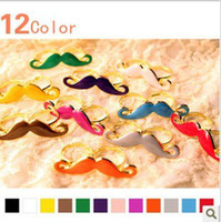 Women's adjustable handlebars - Multicolor Vintage Handlebar Mustache Moustache Double Finger Adjustable Ring Beard Ring W01