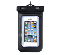 Wholesale Underwater PVC Premium Waterproof Bag Case Pouch for Mobile phone Mp3 Mp4 Dry Bag XMAS Gift DHL