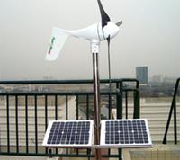 Wholesale Off grid Breeze Dragonfly W Wind turbine generator build in MPPT controller