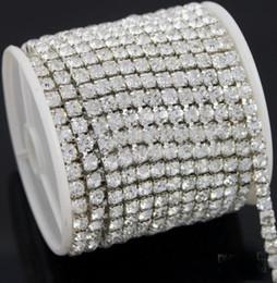 Wholesale Hot selling Yards Diamante Rhinestone Cake Banding Trim Cake Decoration mm Fit Jewelry Clothes
