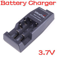 Wholesale Black UltraFire WF Rapid Charger For CR123A V Lithium Rechargeable Battery Free Shpping US or EU
